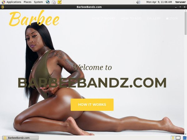 Barbee Bandz Login Account