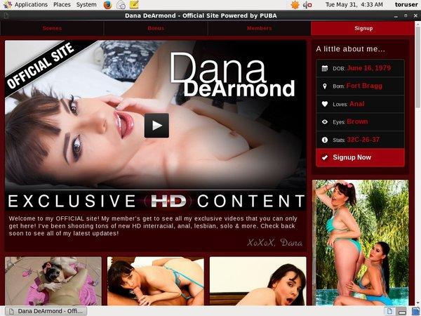 Dana DeArmond Buy Membership