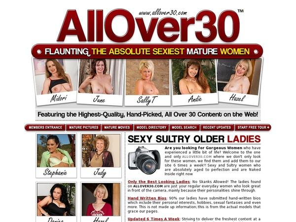 Promo All Over 30 Original Free Trial