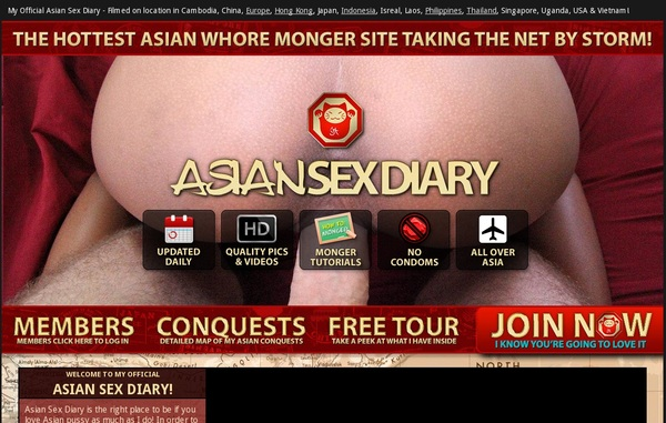 Asiansexdiary.com Members Discount