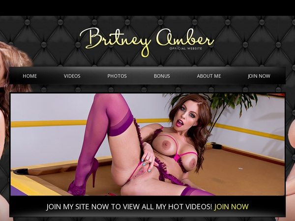 Free Britney Amber Trial Offer