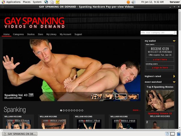 Register For Gayspanking.tv