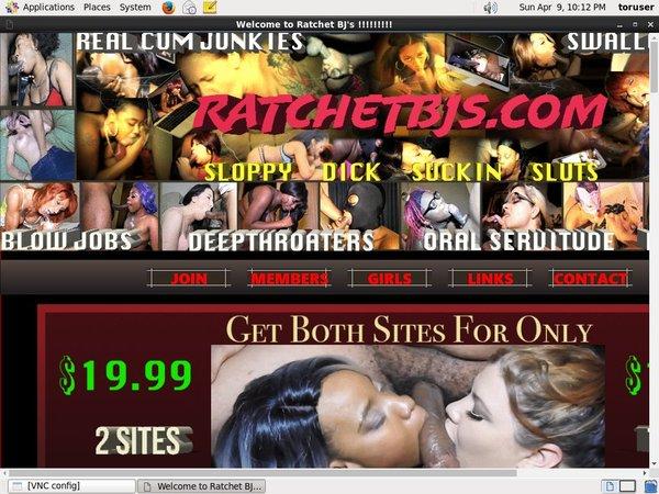 Ratchetbjs.com Acc
