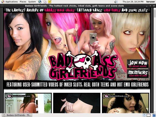 Badassgirlfriends Renew Membership