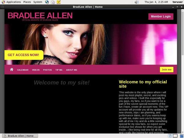 BradLee Allen Account Premium