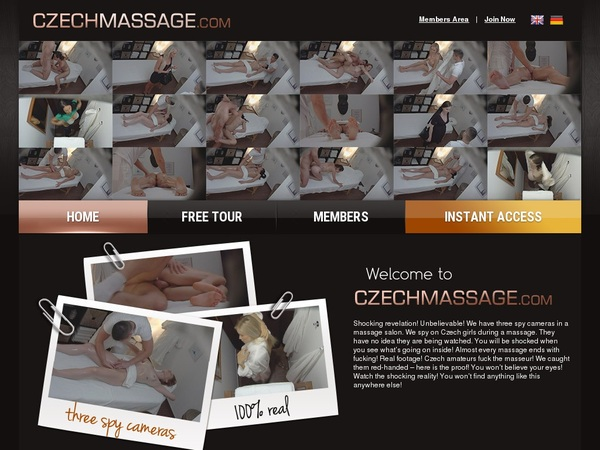 Free Trial Czech Massage Login