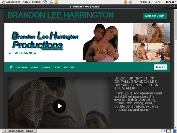 Brandon Lee Harrington Try Free