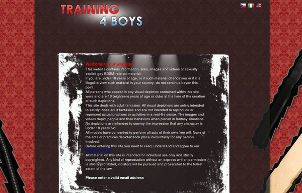 Bypass Training4boys