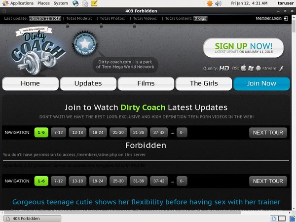 Dirty-coach.com Inside