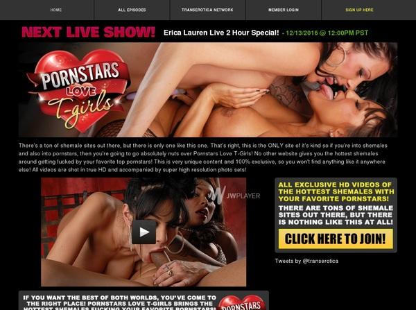 Porn Stars Love T-Girls Premium