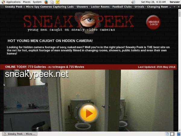 Sneakypeek.net Watch