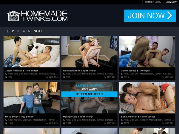 Home Made Twinks Alternate Payment