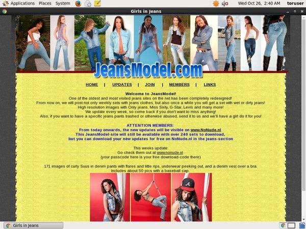 Model Jeans Membership Trial