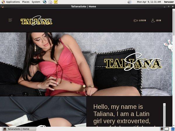 Talianasoto.modelcentro.com Free Account